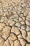 Почва земли засухи Стоковое Изображение RF