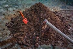 Почва компоста Стоковая Фотография RF