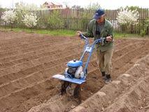 почва культивирования Стоковое Изображение