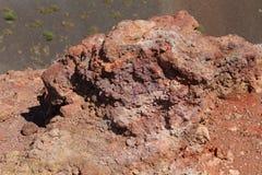 Почва на наклонах вулкана Этна в Сицилии стоковые изображения rf