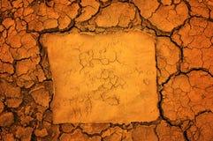 почва предпосылки сухая стоковое изображение