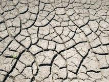 почва треснутая предпосылкой Стоковое Изображение RF