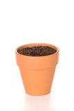 почва цветочного горшка глины Стоковые Фото