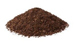 Почва Potting изолированная на белизне Стоковая Фотография RF