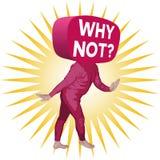 Почему не человек Стоковое фото RF
