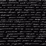 почерк вектор предпосылки безшовный Стоковые Фотографии RF