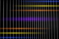 почерните металл решетки Стоковое фото RF