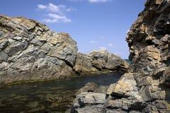 почерните море Стоковые Изображения RF