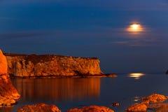 почерните море Стоковое Фото