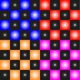 почерните ответную часть потери highlight игры конца шахмат проверки дела доски monochrome метафоры над успехом стратегии принима иллюстрация вектора