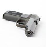 почерните пистолет Стоковая Фотография