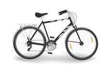 Почерните Bike Стоковые Фотографии RF