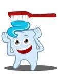 Почистьте ваши зубы щеткой бесплатная иллюстрация