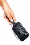 почистьте волос щеткой Стоковое Изображение