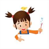 Почистьте зубы щеткой Стоковая Фотография RF