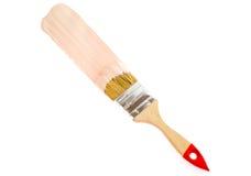 почистьте изолированную краску щеткой Стоковые Изображения