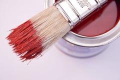 почистьте краску щеткой Стоковые Фотографии RF