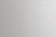 Почищенная щеткой алюминиевая текстура Стоковое Изображение
