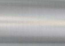 почищенная щеткой горизонтальная сталь Стоковая Фотография RF