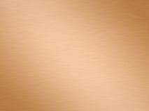 почищенная щеткой медь Стоковая Фотография