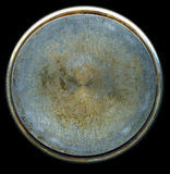 почищенная щеткой пакостная текстура металла Стоковая Фотография