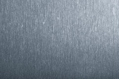 почищенная щеткой предпосылкой текстура металла Стоковая Фотография