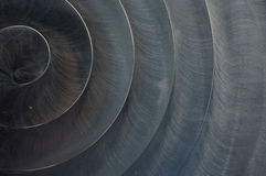 Почищенная щеткой предпосылка конспекта текстуры металла Стоковое фото RF