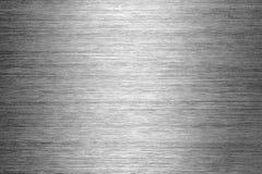 почищенная щеткой текстура металла Стоковое Изображение RF