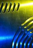 почищенная щеткой текстура металла Стоковое фото RF