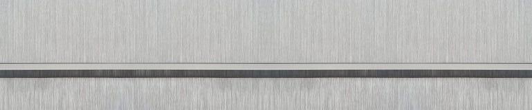 Почищенная щеткой текстура металла (голова вебсайта) Стоковые Изображения