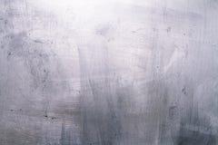 Почищенная щеткой текстура металла Стоковые Фото