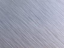 почищенная щеткой текстура разрешения высокого металла реальная Стоковая Фотография