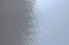 почищенная щеткой текстура стали металла Стоковая Фотография