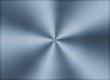 Почищенная щеткой циркуляром предпосылка текстуры металла Стоковая Фотография