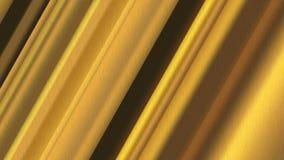 Почищенное щеткой золото с раскосными нашивками текстурирует для предпосылки стоковое изображение