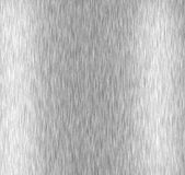 почищенный щеткой алюминий Стоковое Изображение