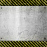 почищенный щеткой знак металла опасности старый бесплатная иллюстрация