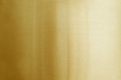 почищенный щеткой золотистый металл Стоковая Фотография RF