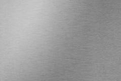 Почищенный щеткой металл Стоковое фото RF