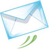 почта иконы e Стоковое Изображение RF
