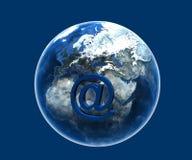 почта интернета e Стоковая Фотография