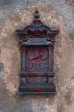 почта коробки старая Стоковые Фото