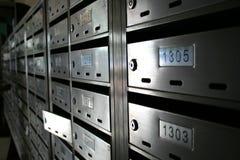почта коробки Стоковые Фото
