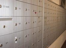 почта коробок Стоковая Фотография