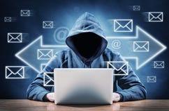 Почта спама Стоковое Изображение RF