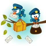 Почтальон птицы Стоковая Фотография