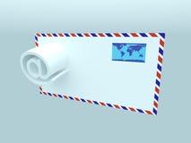 почта e Стоковая Фотография RF