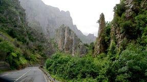 Почти ландшафт чужеземца северной Испании Стоковая Фотография RF