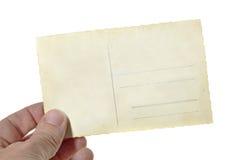 Почтовая карточка стоковые фото