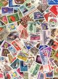Почтовая оплата штемпеля Стоковое Изображение